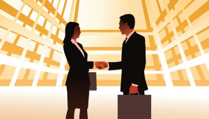 business team handshake 1