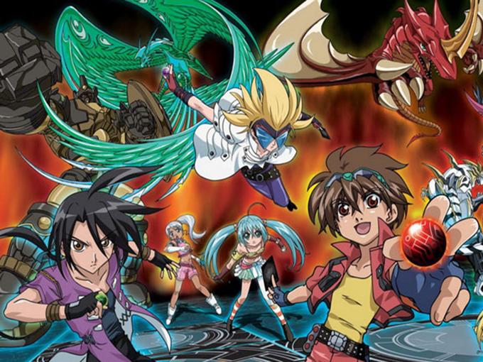 Copied from Kidscreen - Bakugan