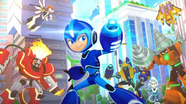 Mega Man Fully Charged - slider