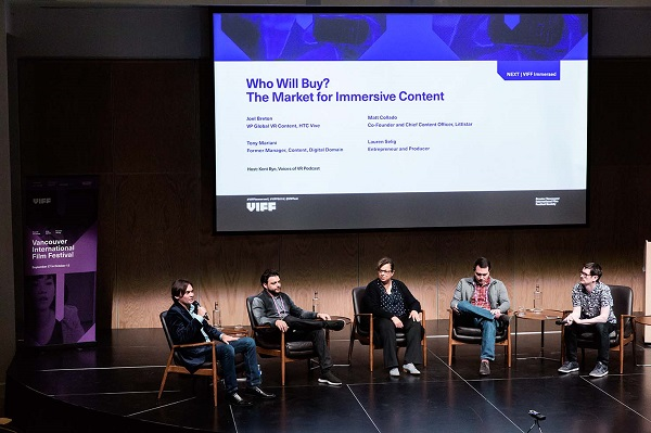 VR Conference - Who will buy? The market for immersive content