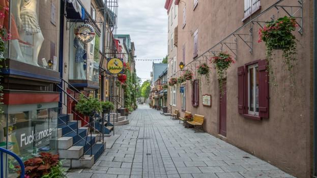 USE CREDIT Quartier Petit Champlain, Quebec