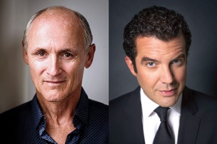 Colm Feore and Rick Mercer