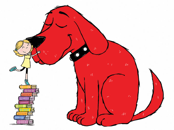 Copied from Kidscreen - clifford-scholastic