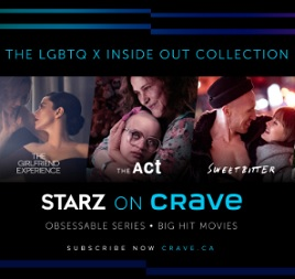 Inside Out and Crave and Starz