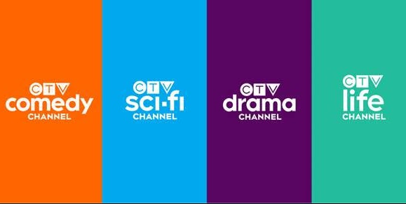 CTV rebranded channels