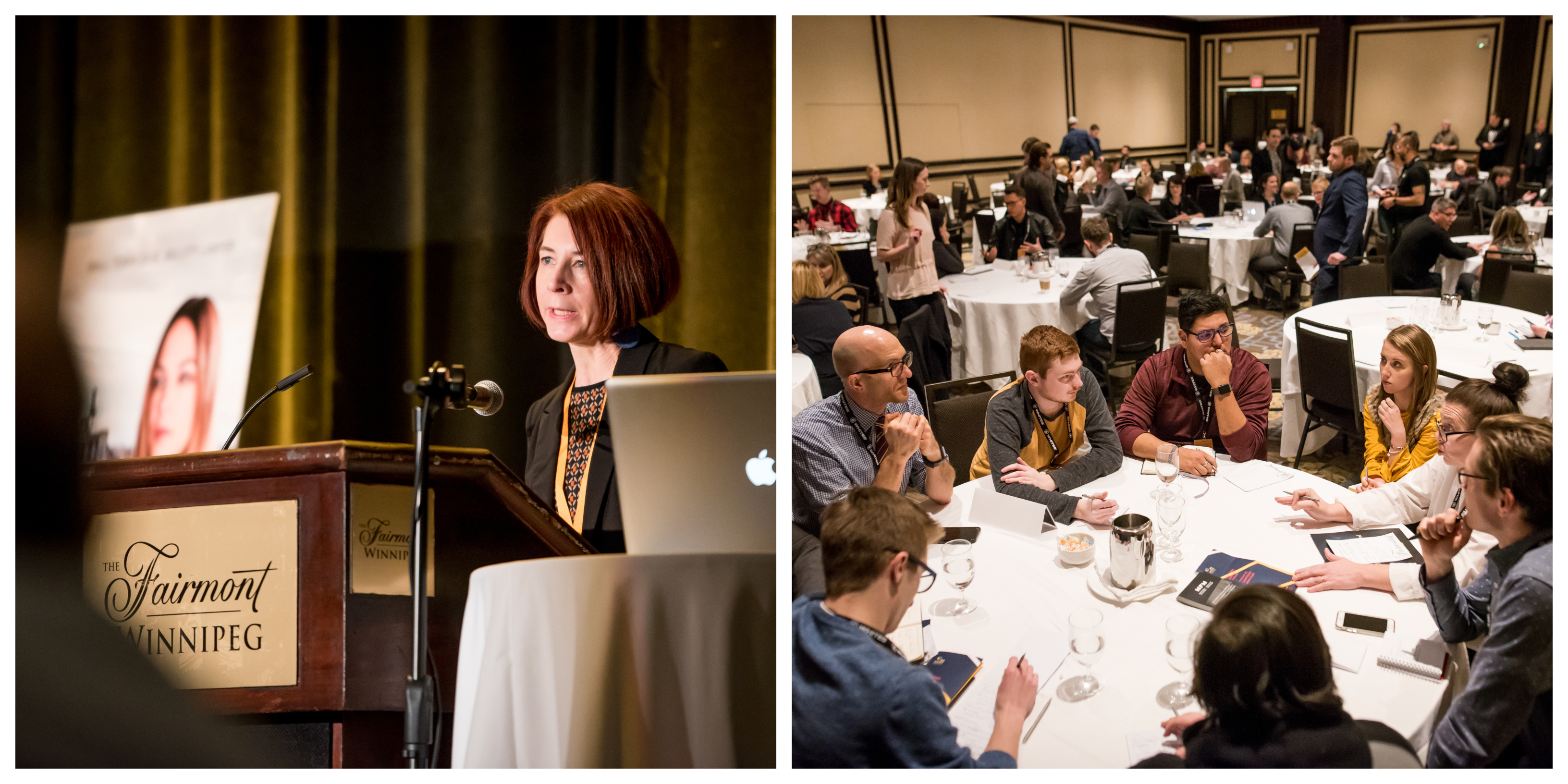 All Access is a strategic touchpoint for distributors, broadcasters and production executives to meet and do business with Manitoba's production industry (photos by Duncan McNairnay.)