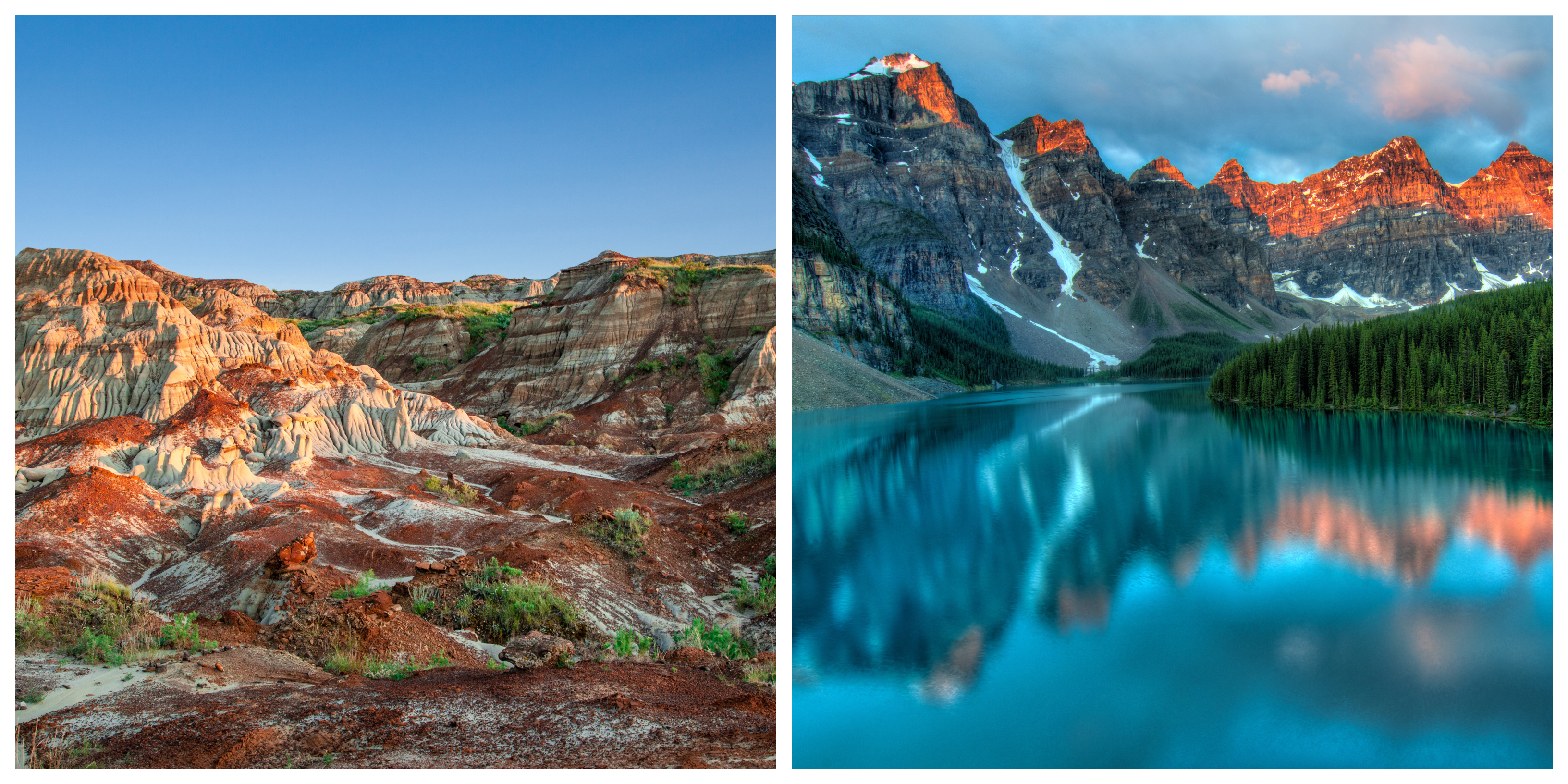 The Badlands and the Rocky Mountains provide a glimpse at Alberta's diverse filming locations – all within driving distance from Calgary.