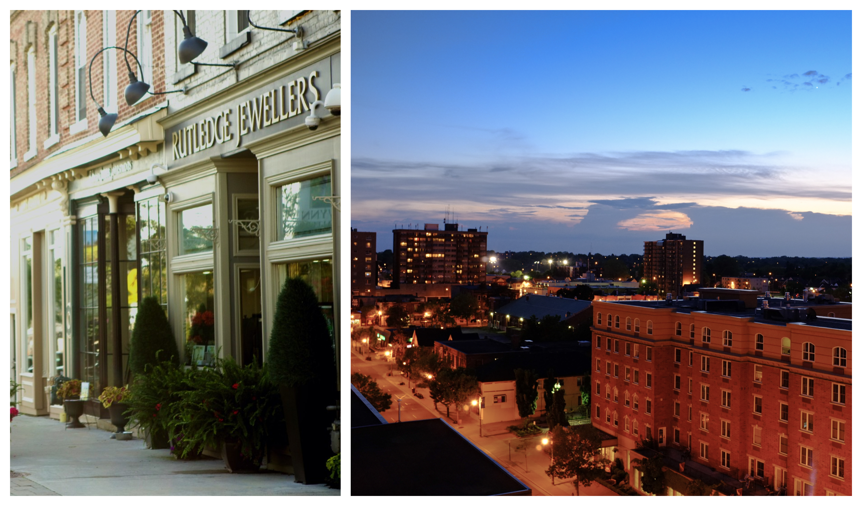 From Uxbridge's quaint downtown (left) to Oshawa's urban streetscapes (right,) Durham offers the perfect backdrop for any production.