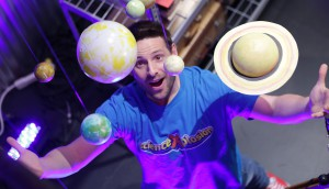 ScienceXplosion_Eric looking at planets
