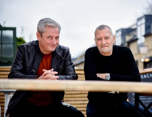 Mark Wood and Blair Krempel, Krempelwood - credit Karl Attard