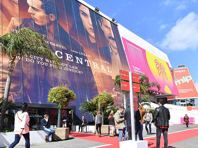 Copied from Realscreen - MIPTV 2018 - ATMOSPHERE - OUTSIDE - PALAIS DES FESTIVALS