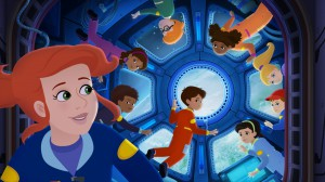 get ready to blast off into space with ms. friz and her students in the brand new specials from the magic school bus: rides again.