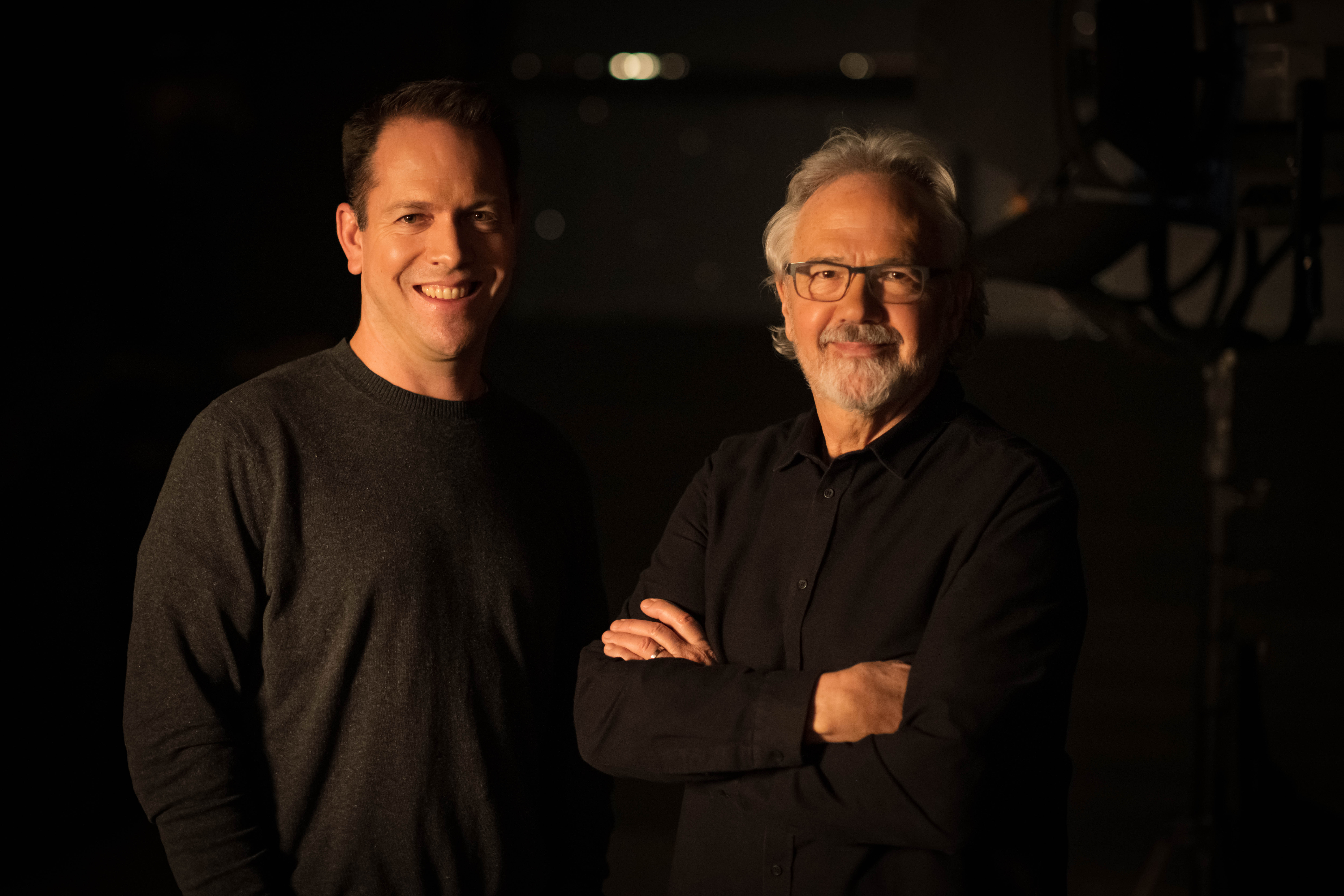 Seven 24 Films, Jordy Randall and Tom Cox (L and R)