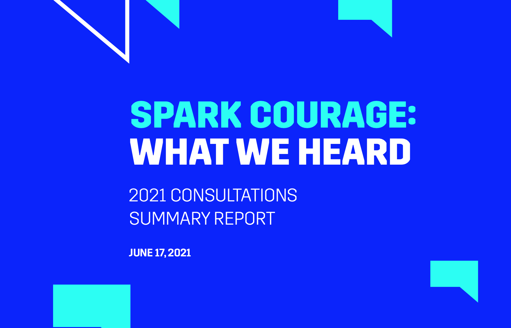 CMF's What We Heard report
