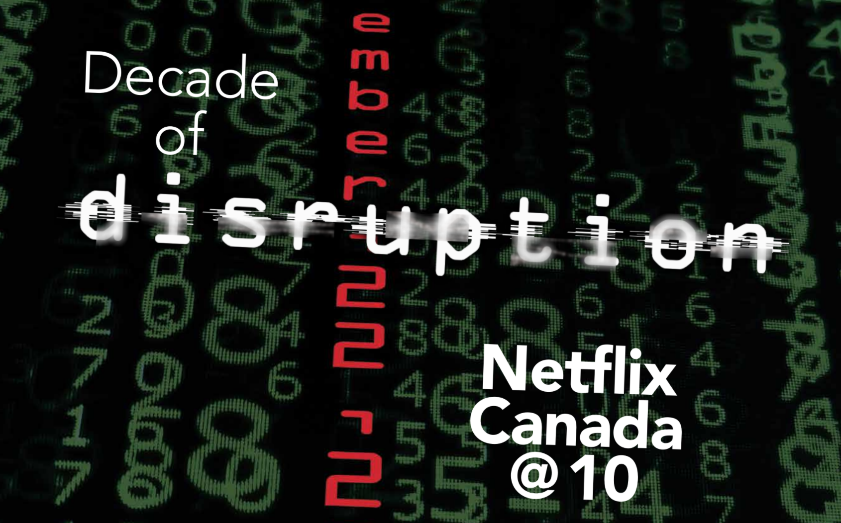 netflix @ 10 tribute graphic