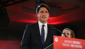 Prime Minister Justin Trudeau Holds Election Night Event In Montreal